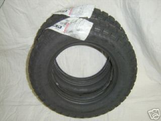 Honda CT70 Tire Set 4 00x10 Bridgestone