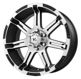 18 inch V Rock Wheels Jeep Wrangler Rubicon Sahara 5x5 Chevy 1988 1998