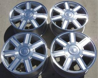 CADILLAC ESCALADE 18 MACHINED FACE RIM FITS GM 6 LUG VEHICLES 2010