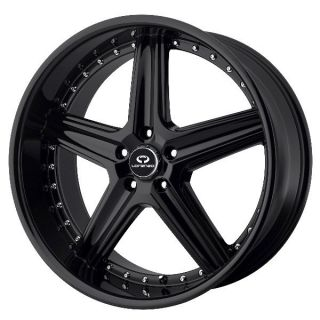 Lorenzo WL019 Black Wheels Rims 5x120 Land Rover Range Rover