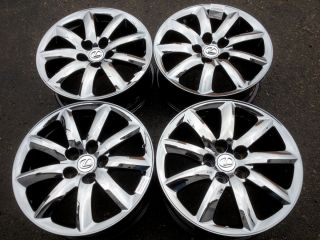 Lexus LS460 Black Chrome Wheels Rims 18x7 5 Factory