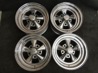 15 x 7 Cragar Chrome Wheels Ford F 150 Dodge RAM 1500 Rims F100 F150