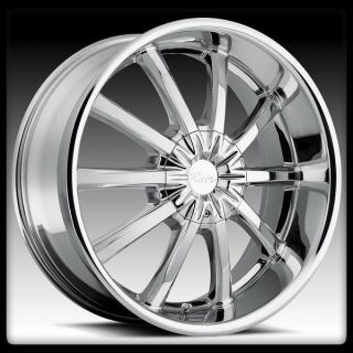 ALLOY 782C BLITZ 5X115 5X5 GRAND CHEROKEE IMPALA CHROME WHEELS RIMS