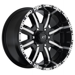 17 Black Rev Dirty Harry Wheels Ford F 150 Expedition Navigator 6 Lug