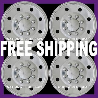 Van 16 8 Lug Wheel Covers Rim Full Hub Caps for Steel Wheels