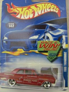 Hot Wheels 2002 142 Ford Thunderbolt Red