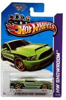 2013 Hot Wheels 155 HW Showroom Asphalt Assault 10 Ford Shelby GT500