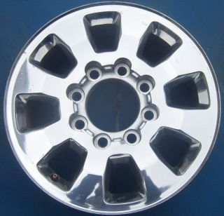 2012 GMC SIERRA DENALI 2500 3500 PICKUP 18 OEM WHEEL RIM POLISHED 5501