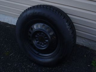07 Trailblazer Rim Wheel with Michelin Tire 17 inch Spare 245 35 R17