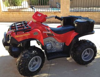 Red Brute Force ATV Fisher Price Power Wheels V Twin 750
