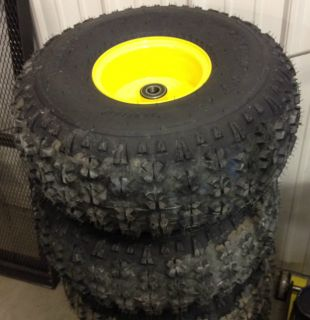 New Pair of John Deere Gator Front Tires and Wheels 22 5x10x8