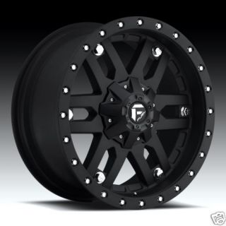 20 Fuel Offroad Mojave Wheel Set Flat Black Rims XD