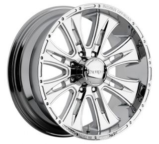 24 inch Incubus Brawn Chrome Wheels Rims 8x6 5 8x165 1