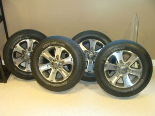 2012 Ford F150 FX2 Wheels and Tires Complete Set Factory Original