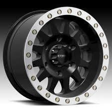 Method MR304 Double Standard 15x10 Black Machined 5x4 5 Qty 1 Wrangler