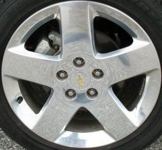 17 Polished Alloy Wheel Rim for 2006 2007 2008 2009 Chevy Chevrolet