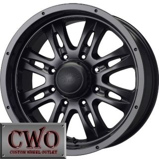 20 Black MB Gunner 8 Wheels Rims 8x170 8 Lug Ford F250 F350 Super Duty