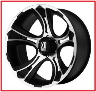 18 inch Black M Wheels rims XD 801 FORD F250 350 superduty 8 lug