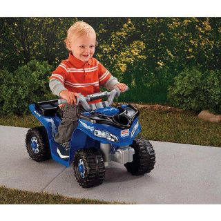 Power Wheels Fisher Price Lil Kawasaki Boys Sport Quad