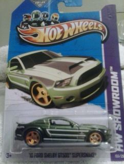 Hot Wheels 2013 Super Treasure 10 Hunt Ford Shelby GT500 Supersnake