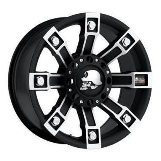Pro Comp Alloy Wheels 20 x 9 Metal Mulisha Black 8x170 Set of 4