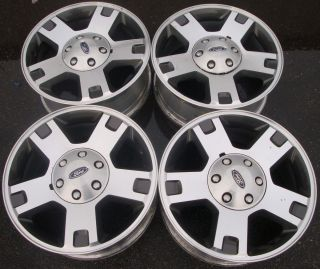 18 2004 05 06 07 08 Ford F150 Alloy Wheels Rims 4L341007CA