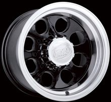 15 ion Wheels Rims Black Jimmy S10 Sonoma Blazer GMC