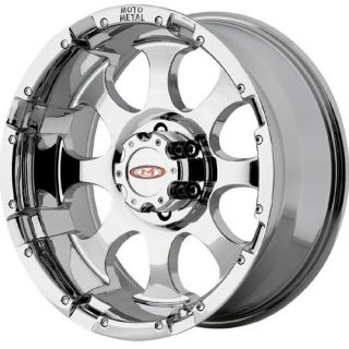 18 Moto Metal 955 Chrome Wheels 8x170 Ford F250 F350