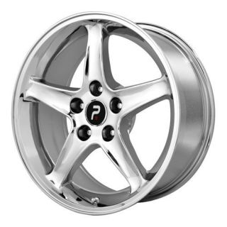 Chrome Ford Mustang Cobra R Factory OE Replica Wheels Rims 5x4 5 17x9