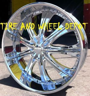 26 inch RS33 Rims Only Charger Magnum Chrysler 300 Crown Vic Explorer