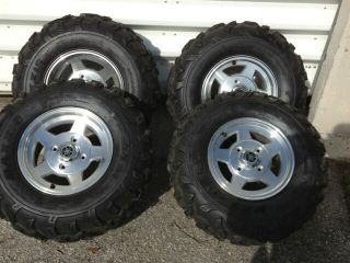 OEM Yamaha Rhino Limited Edition Wheels and Maxxis Tires 450 660 700