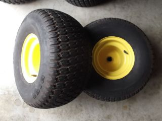 John Deere LX176 178 186 188 Rear Rims and Tires