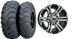 Force 650i 750 750i ITP SS212 Wheels 25 Mud Lite Tires Kit