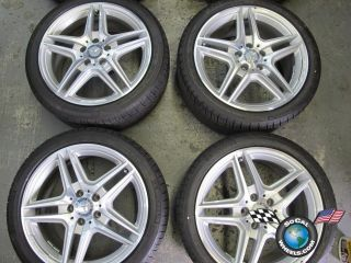 E350 E550 Factory AMG 18 Wheels Tires Rims W207 W212 85150