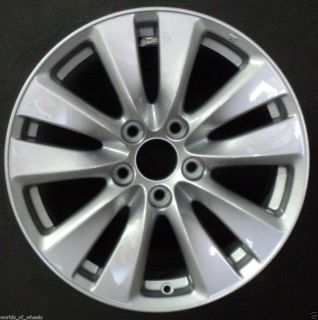 2011 Honda Accord 17 5 Split Spoke Factory Alloy Wheel Rim H 64015