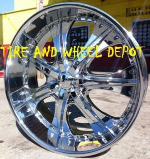 26 INCH U235 RIMS & TIRES CAPRICE NAVIGATOR EXPEDITION IMPALA F150