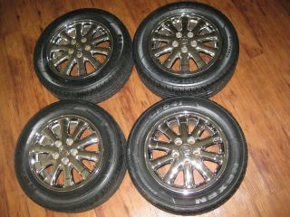 16 16 Lexus sc400 Chrome Rims Wheels 4 New Tires Acura Toyota Honda