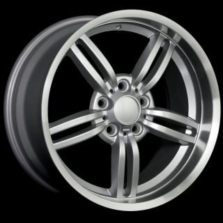 18 M6 Lip Style Staggered Wheels 5x120 Rim Fit BMW 325i 328i 330i CI