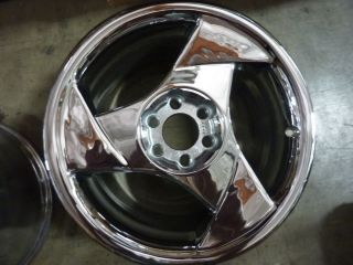 Viper Left Front 2029 Chrome Wheel Rim 1992 1993 1994 1995