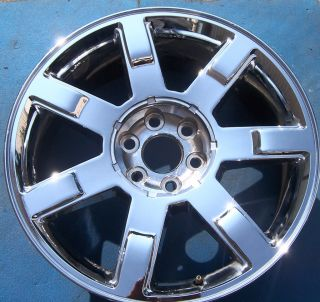 09 10 11 Cadillac Escalade Ext ESV 22 Factory Wheel Rim Chrome