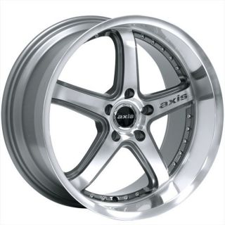 19 Axis Shine Style Anthracite Wheels Rims Staggered Fit ES GS LS400