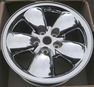 20 Dodge RAM 1500 03 04 05 Wheel Rim CHROME CLAD 2167A OEM 52110356AA