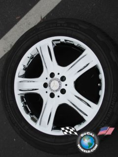 06 09 Mercedes ML350 R320 ML500 Factory 19 Wheel Tire OEM Rim 65369