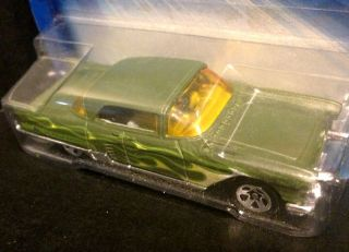 Eldorado Brougham Green 2004 Hot Wheels 1 64 Carded Diecast Car