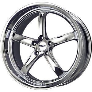 New 20x10 5x112 TSW Nogaro Chrome Wheel Rim