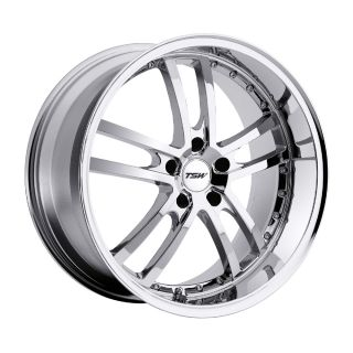 18x8 TSW Cadwell Chrome Wheel Rim s 5x114 3 5 114 3 5x4 5 18 8