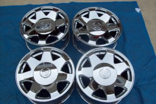 06 Escalade Ext ESV 17 Wheels Chrome Rims Silverado Tahoe GM