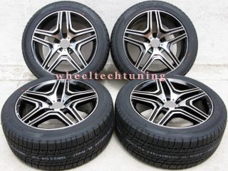 Benz Wheel and Tire Package Rims Fit MBZ GL450 and GL550 Black