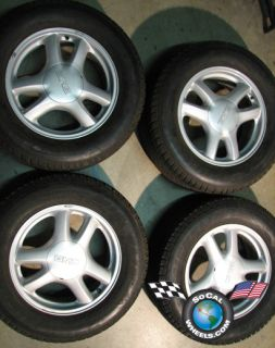 02 09 GMC Envoy XL XUV Factory 17 Wheels Tires OEM Rims 9593390 5136