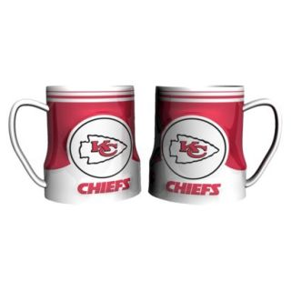 Boelter Brands NFL 2 Pack Kansas City Chiefs Game Time Mug   20 oz